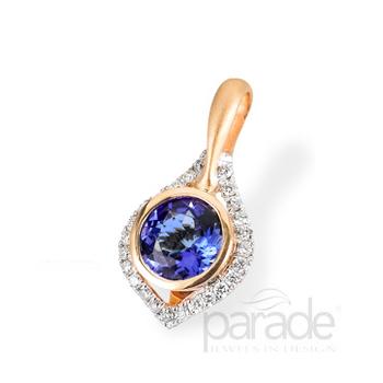 Sapphire & Diamond Pendant P2791