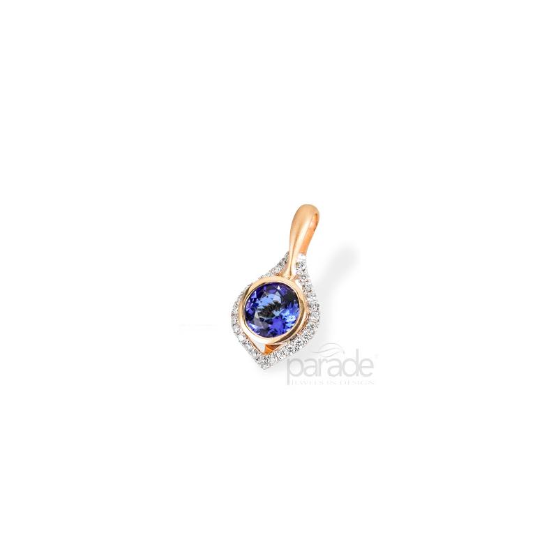 Parade Design Sapphire & Diamond Pendant P2791