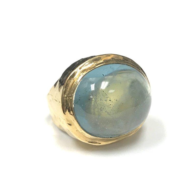 Antique, Estate & Consignment Blue Topaz Cocktail Ring