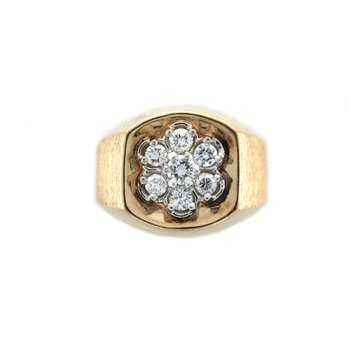 Men's Diamond Cluster Ring