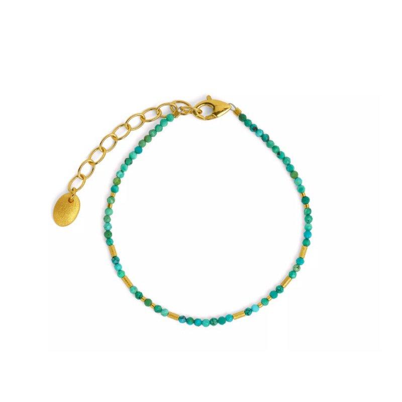 Bernd Wolf Tabaci Turquoise Bracelet