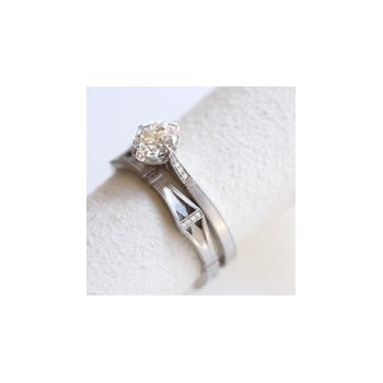 Helena Diamond Wedding Band