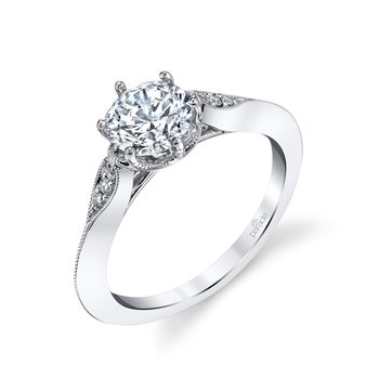 Hera Bridal Vintage Style Engagement Ring R3976