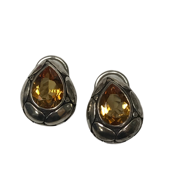 John Hardy Citrine Earrings