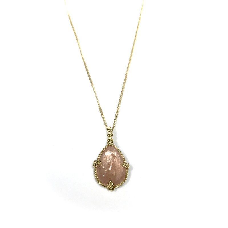 Amali Morganite One of a Kind Necklace