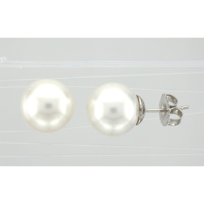 Antique, Estate & Consignment South Sea Pearl Stud Earrings