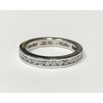 Channel Set Diamond Eternity Band