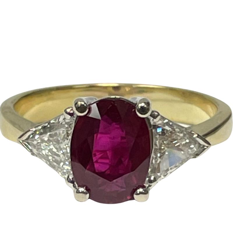 Antique, Estate & Consignment Ruby & Diamond Ring