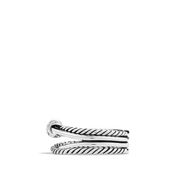 Pre-Owned David Yurman X Crossover Diamond Ring
