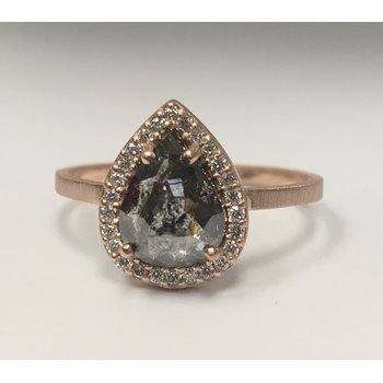 Alexis Russel Salt & Pepper Diamond Ring
