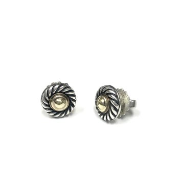Pre-Owned David Yurman Cable Stud Earrings