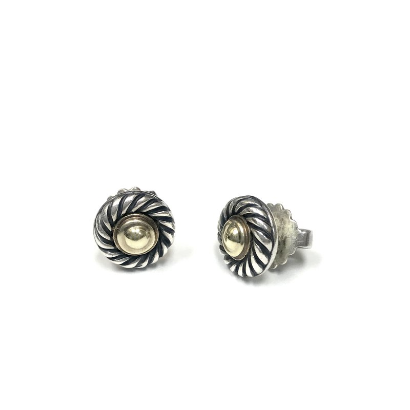 Antique, Estate & Consignment Pre-Owned David Yurman Cable Stud Earrings
