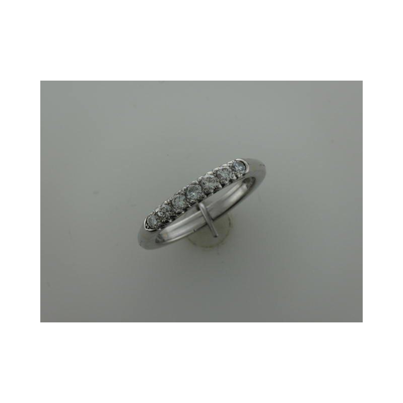 Antique, Estate & Consignment 14k Diamond Band - Adjustable Shank