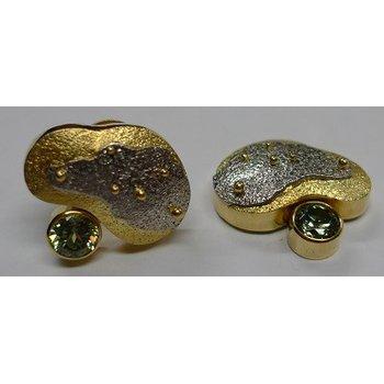 Demantoid Garnet Earrings