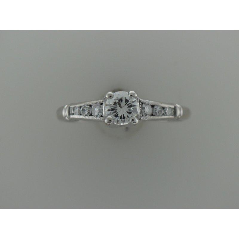 Antique, Estate & Consignment Platinum Diamond Engagement Ring