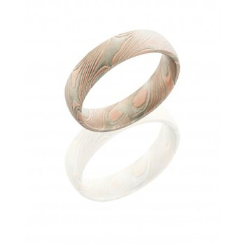 Mokume 5mm Domed Band