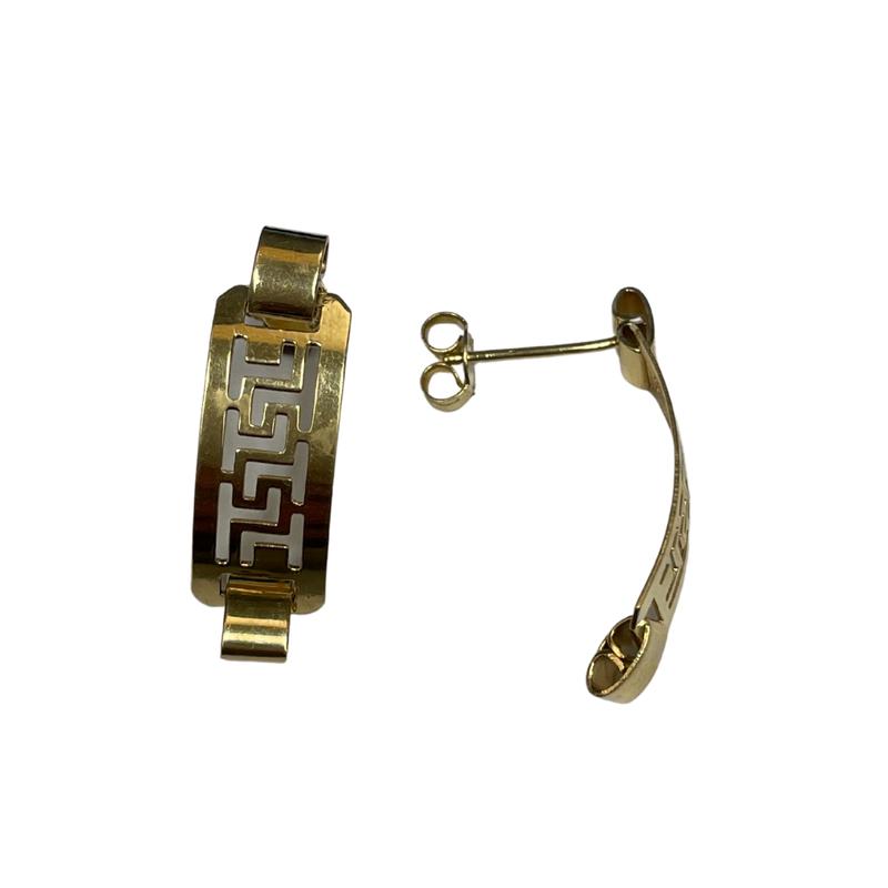 Antique, Estate & Consignment Geometric Drop Earrings