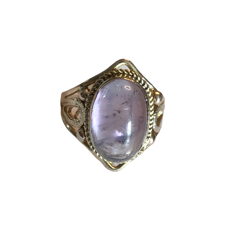 Antique, Estate & Consignment Cabochon Amethyst Ring