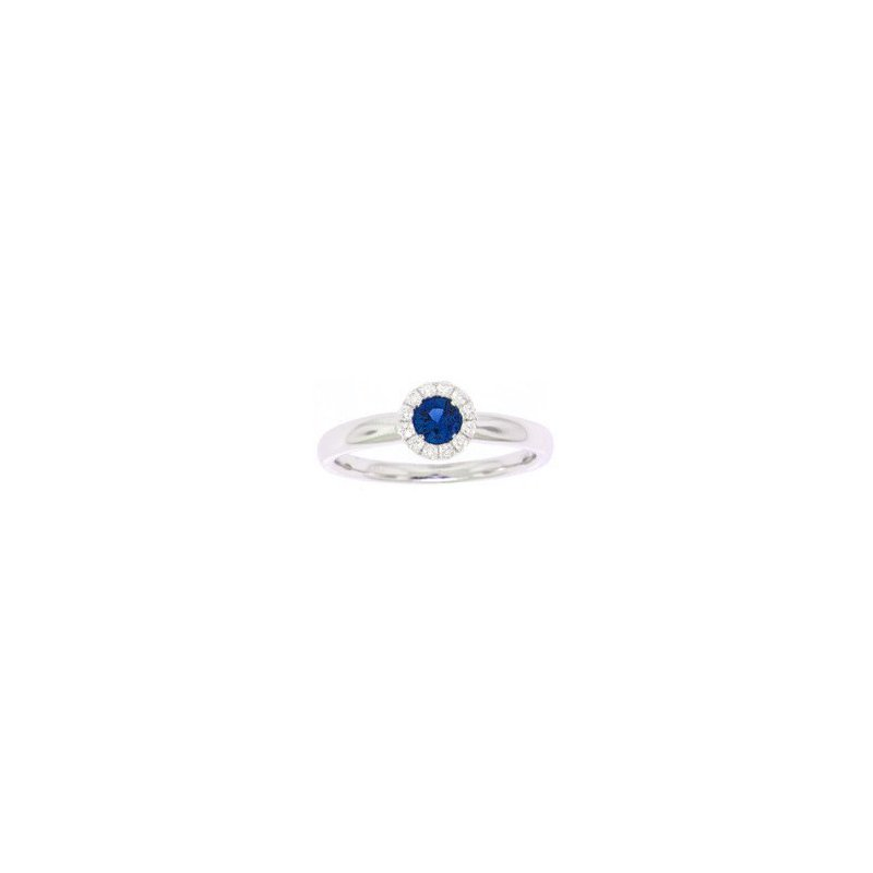 Antique, Estate & Consignment Sapphire & Diamond Halo Ring