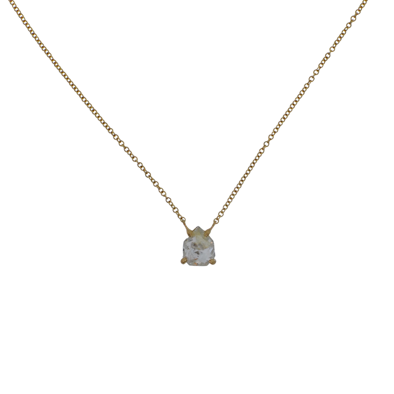 Yasuko Azuma Jewelry Rose Cut Diamond Necklace