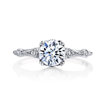 Hera Bridal Vintage Style Engagement Ring R4502