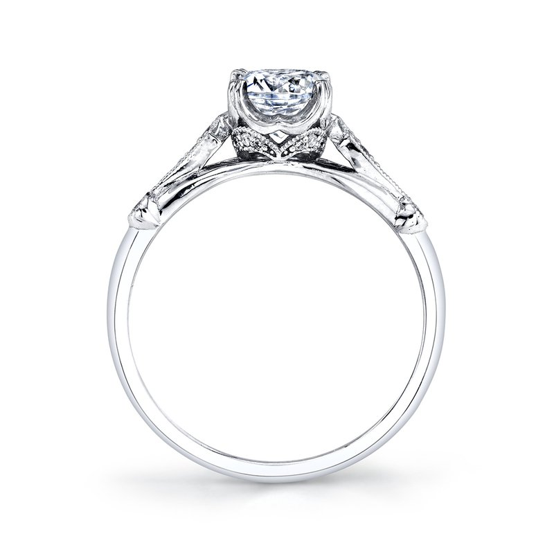 Parade Design Hera Bridal Vintage Style Engagement Ring R4502