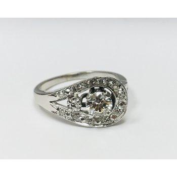 14k Swirl Ring