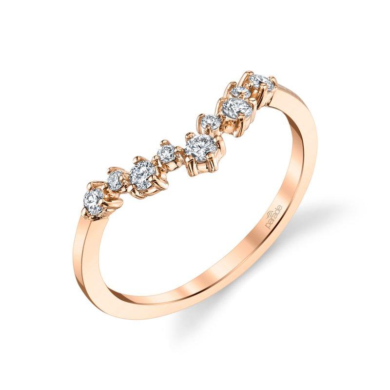 Parade Design Lumiere Bridal V Diamond Scatter Band LMBD4169A
