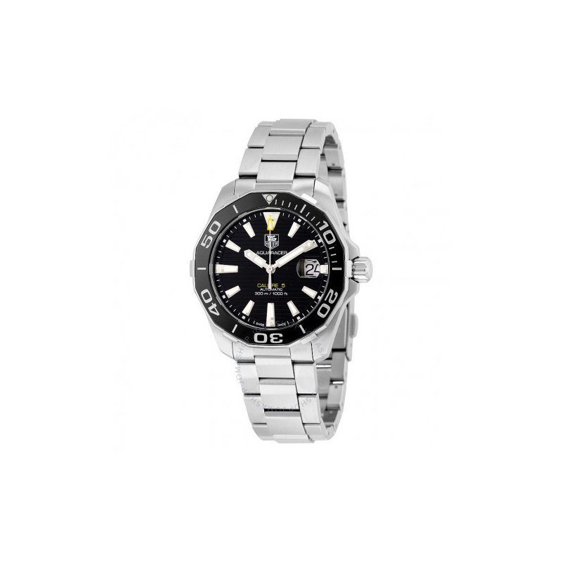 TAG Heuer Aquaracer Calibre 5 Automatic Black Dial