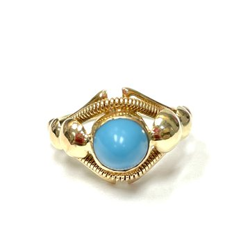 Cabochon Turquoise Ring
