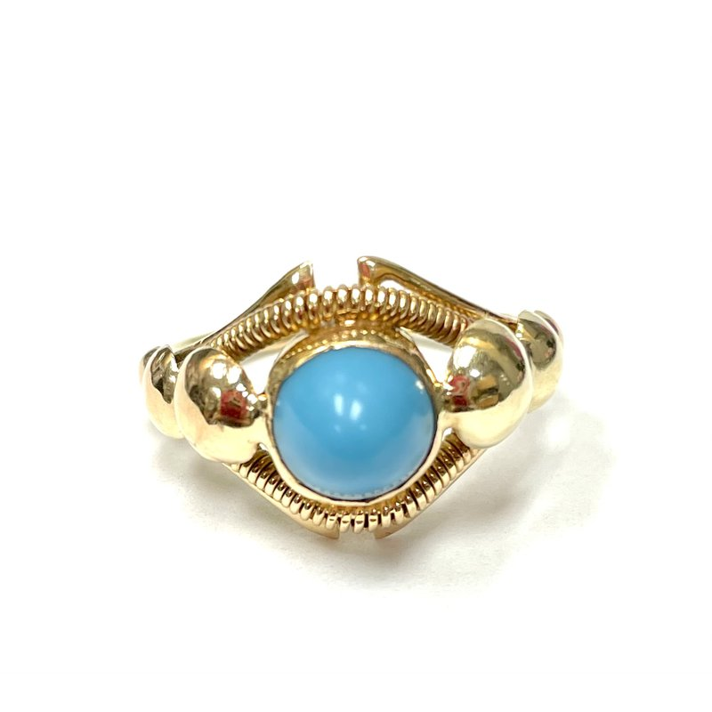Antique, Estate & Consignment Cabochon Turquoise Ring