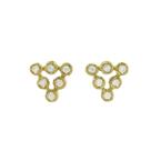 Yasuko Azuma Jewelry Triangle Diamond Studs