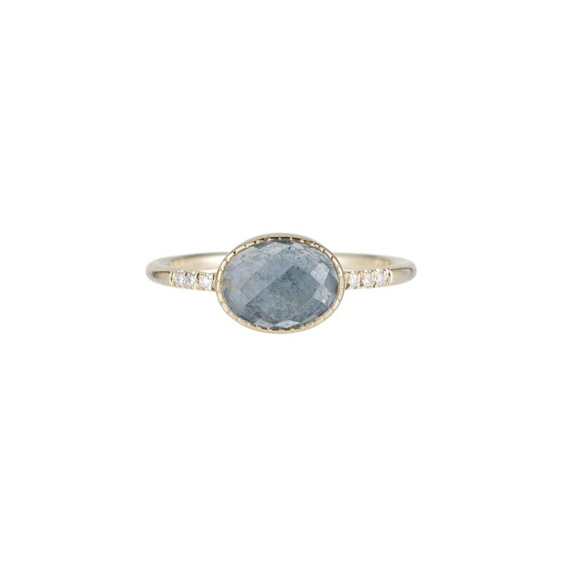 Jennie Kwon Montana Sapphire Equilibrium Ring
