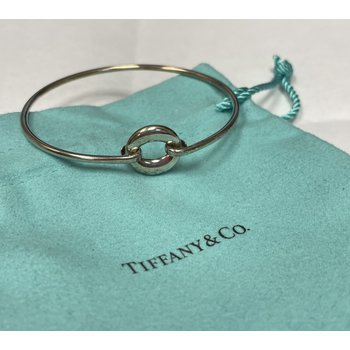 "Tiffany & Co. Stamped ""O"" Bracelet"