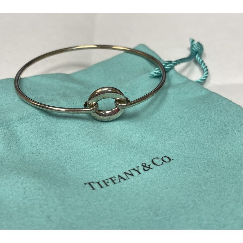 """Antique, Estate & Consignment Tiffany & Co. Stamped """"O"""" Bracelet"""