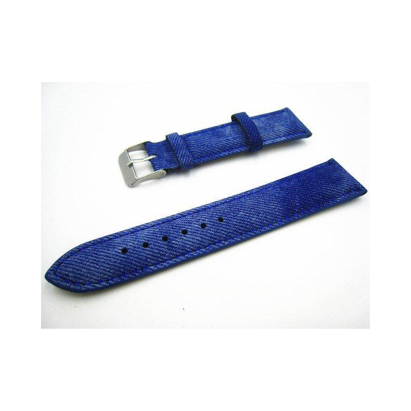 TAG Heuer Blue Denim Leather Strap