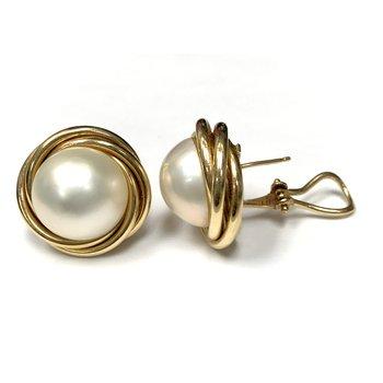 Mabe Pearl Earrings