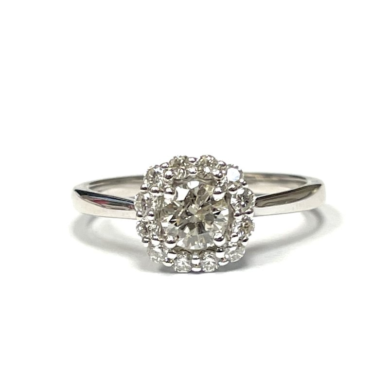 Hurdle's Jewelry Collection Diamond Halo Engagement Ring