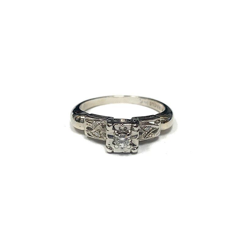 Antique, Estate & Consignment Vintage Illusion Set Diamond Ring