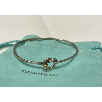 Tiffany & Co Stamped Knot Bracelet