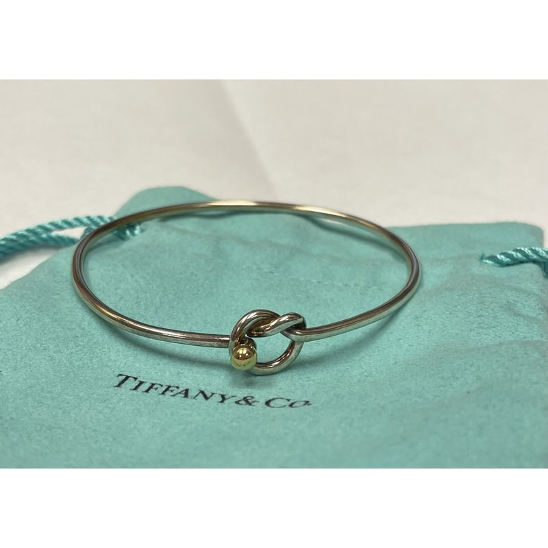 Antique, Estate & Consignment Tiffany & Co Stamped Knot Bracelet