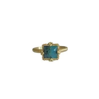 One of a Kind Peruvian Opal Ring