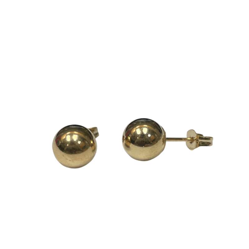 Antique, Estate & Consignment 6.9mm Ball Stud Earrings