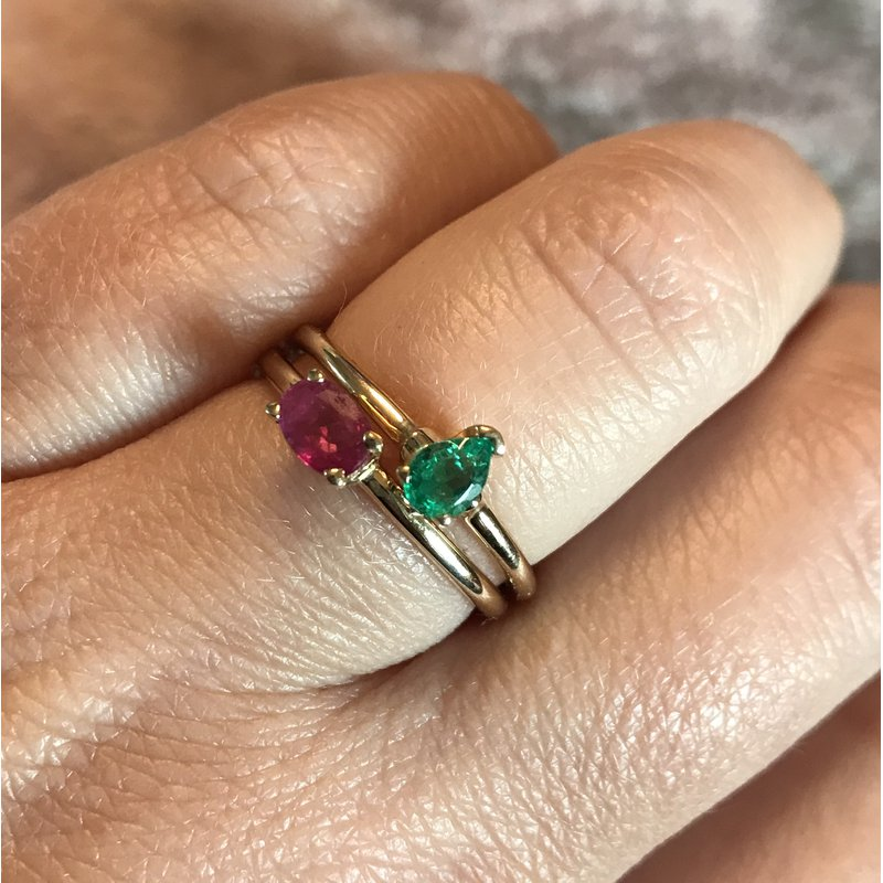 Antique, Estate & Consignment 14k Ruby Ring