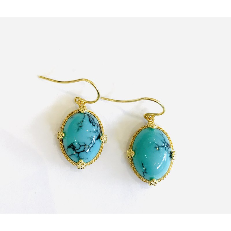 Amali One of a Kind Turquoise Earrings