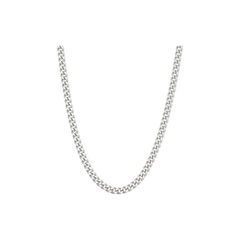 """Adrienne Designs Silver Curb Chain 24"""""""