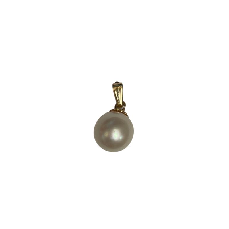 Antique, Estate & Consignment 8.7mm Cultured Pearl Pendant