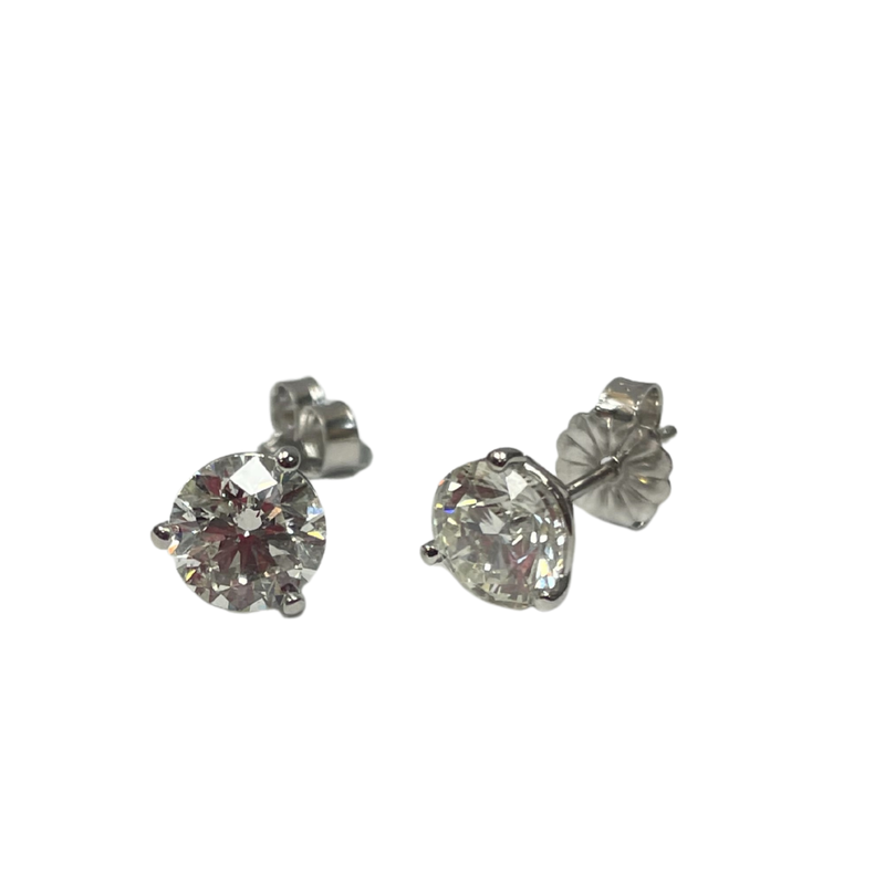 Hurdle's Jewelry Collection 2.00 Carat Total Weight Diamond Studs