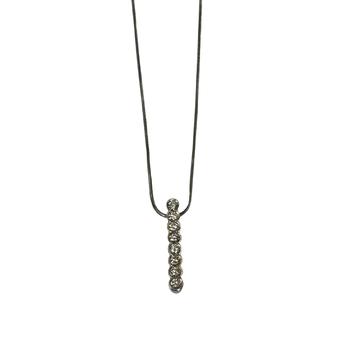 John Atencio Diamond Bar Necklace