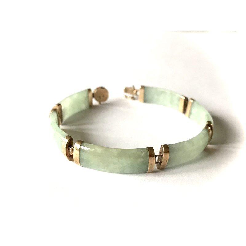 Antique, Estate & Consignment 14k Jade Bracelet